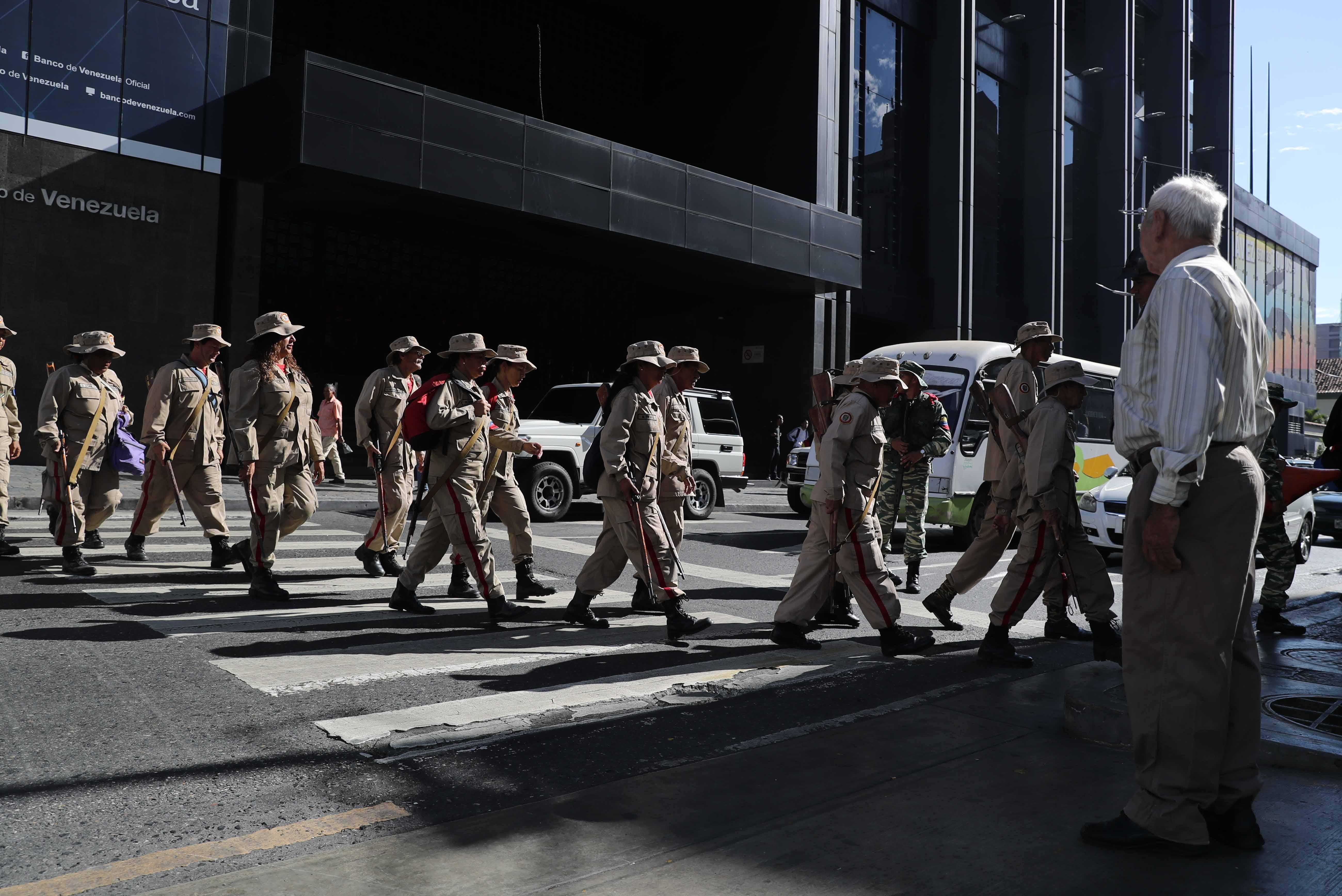 Más de 2 millones de milicianos participan en ejercicios militares