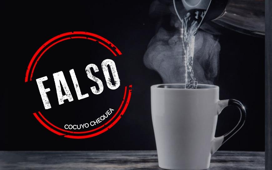 ¿El agua o el té caliente ayudan a prevenir el contagio con coronavirus? #datoscoronavirus