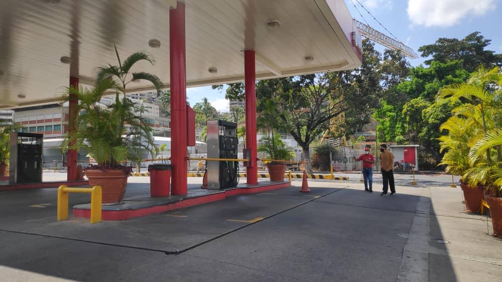 caracas combustible gasolina coronavirus covid-19 31 de marzo