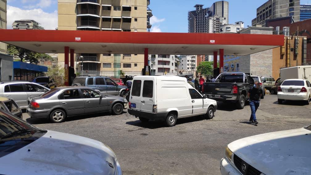 combustible gasolina caracas coronavirus covid-19 31 de marzo