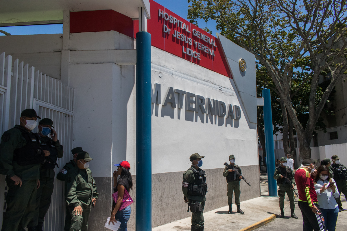 Hospitales de Caracas al límite de sus capacidades para atender casos de COVID-19