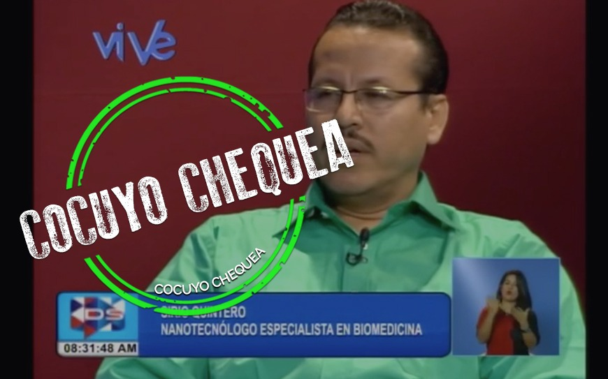 """¿Quién es Sirio Quintero, el """"científico"""" antivacunas que Maduro respaldó?"""