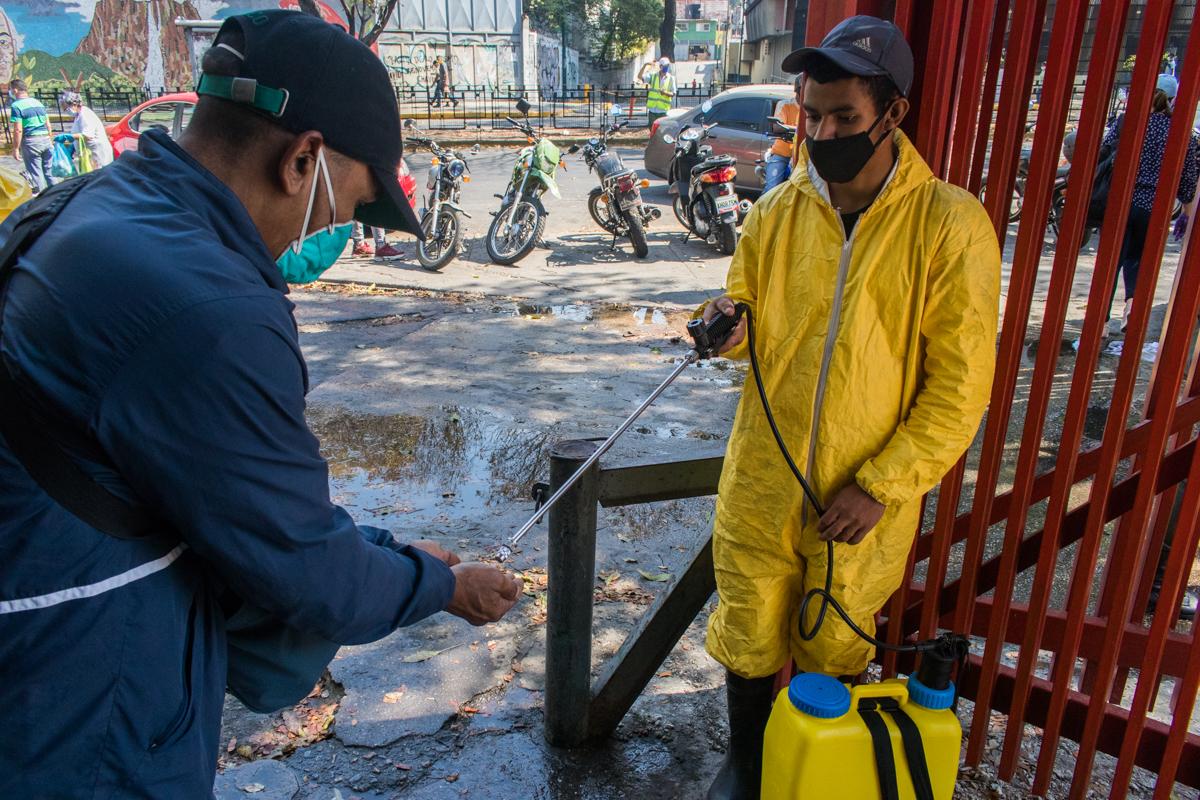 venezuela mercado desinfeccion manos