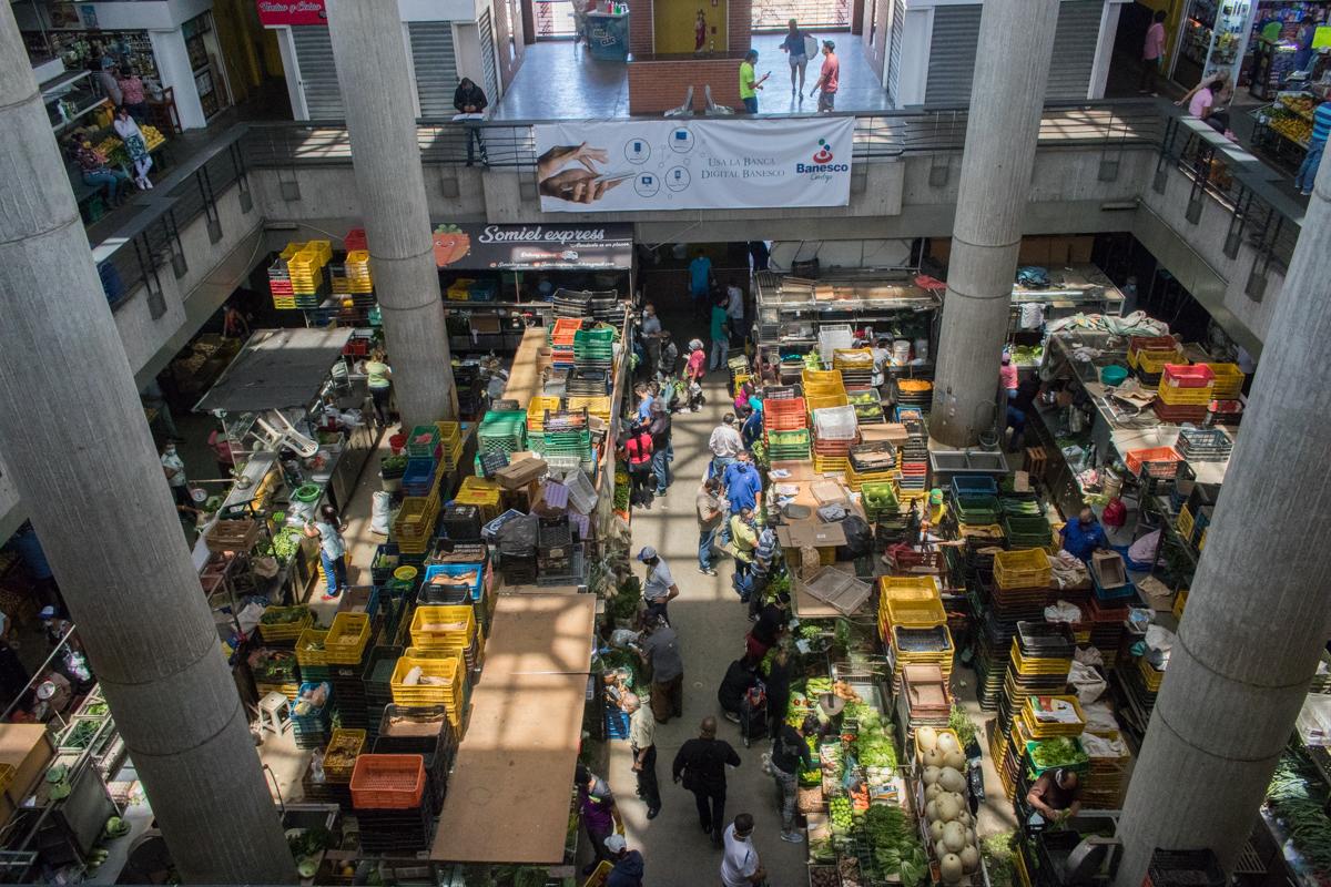 venezuela caracas mercado de chacao