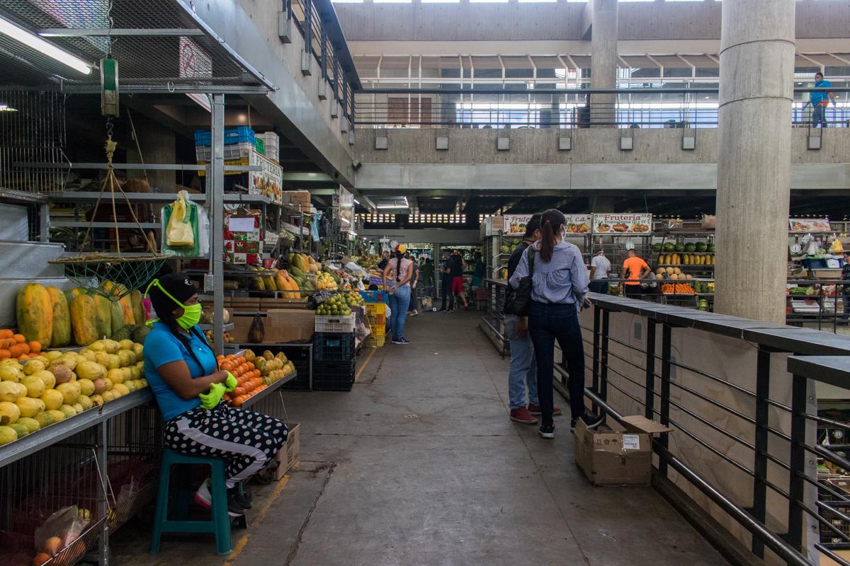 venezuela caracas mercado de chacao coronavirus