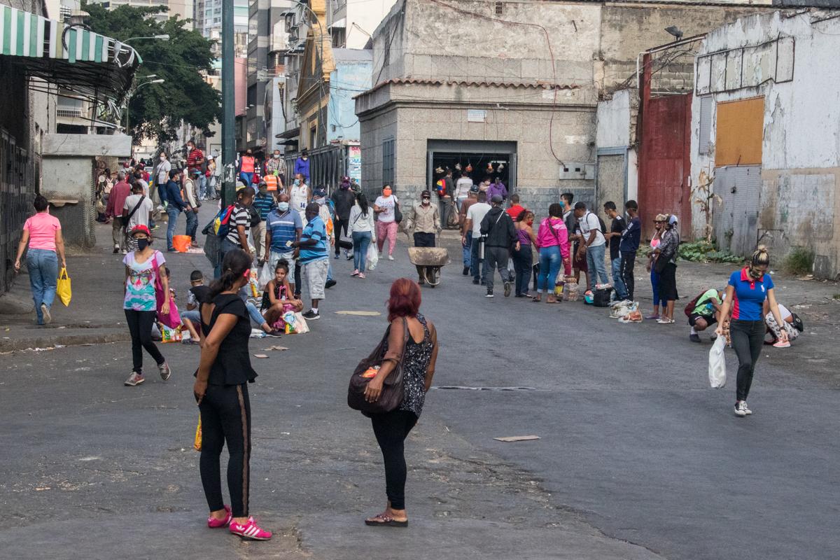 Avenida Baralt Mercado de Quinta Crespo 18 de abril
