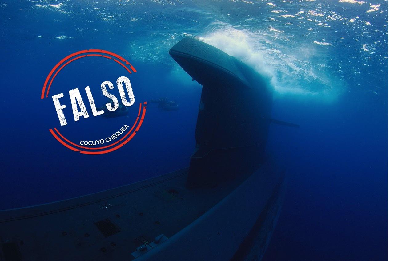 ¿Llegó un submarino a Curazao por el operativo antidrogas de EEUU?