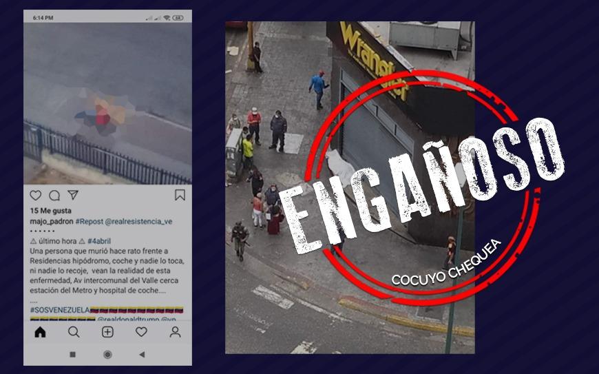 ¿En Venezuela han muerto personas en la calle por los efectos del COVID-19?