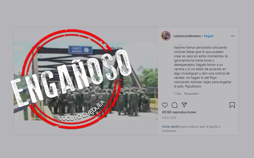 ¿Hubo protestas y represión en puente Macuto durante la cuarentena?
