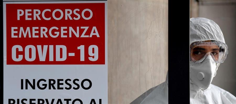 Italia teme por sus 6.000 trabajadores sanitarios contagiados por COVID-19