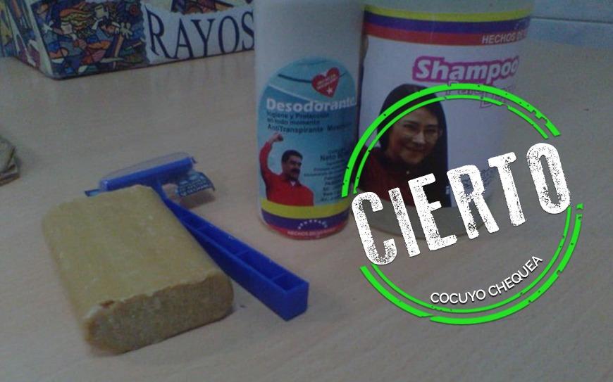 ¿Es real el kit de higiene con los rostros de Nicolás Maduro y Cilia Flores?
