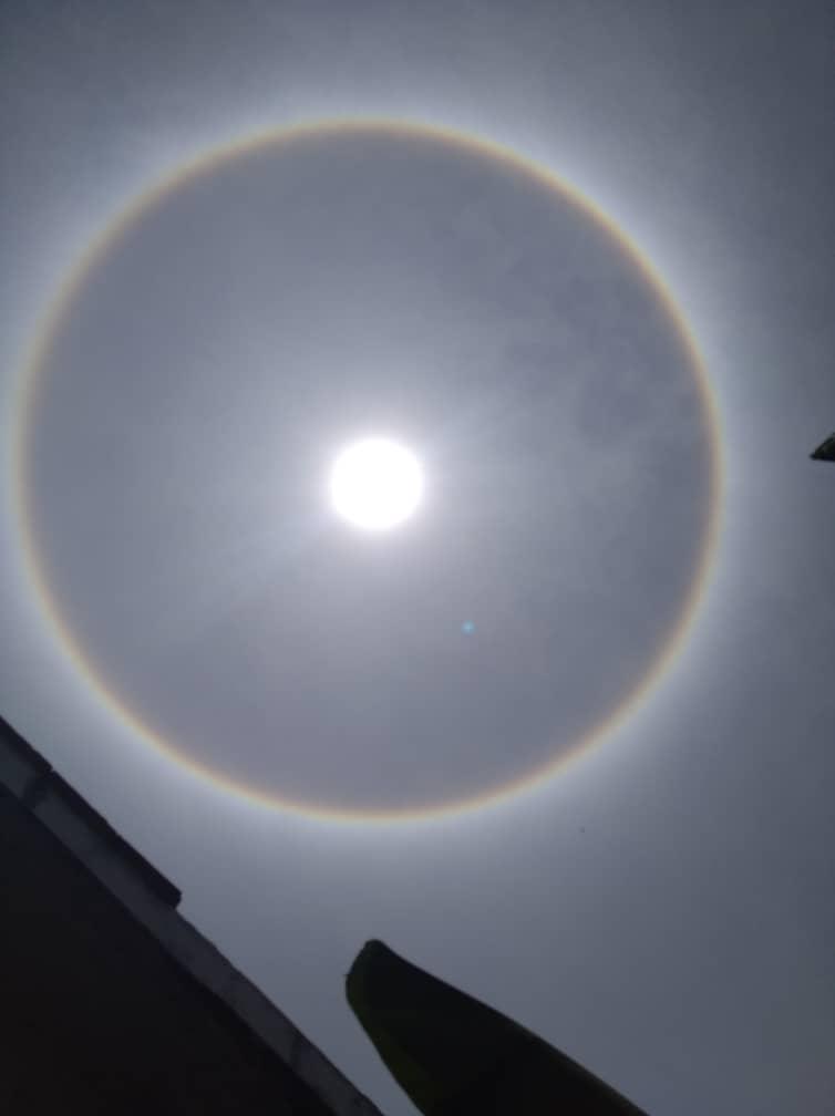Halo Solar El Fenomeno Que Vieron Los Venezolanos Este 5abr