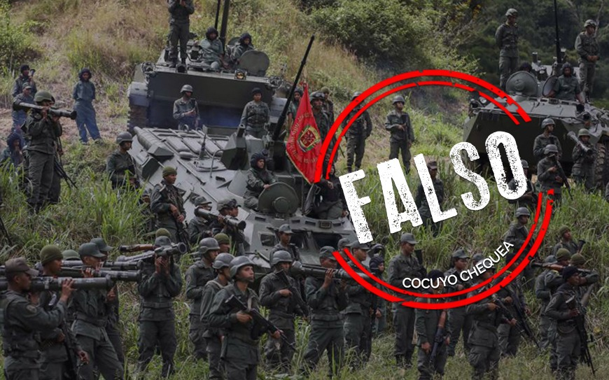¿Vídeo de vehículos militares demuestra presencia de tropas de EEUU en Venezuela?