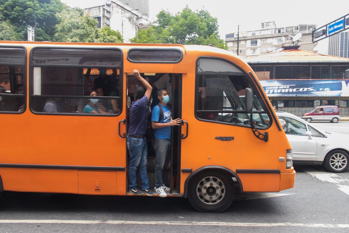 Transporte público Caracas