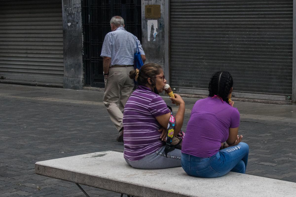 Caracas, bulevar de sabana grande