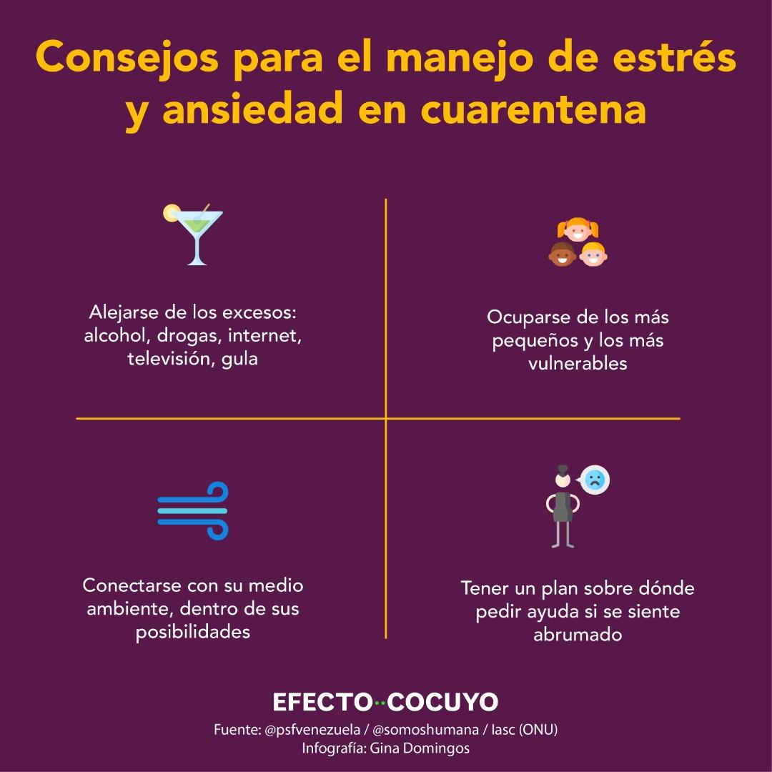 Salud mental en cuarentena: qué hacer y dónde buscar ayuda en Venezuela