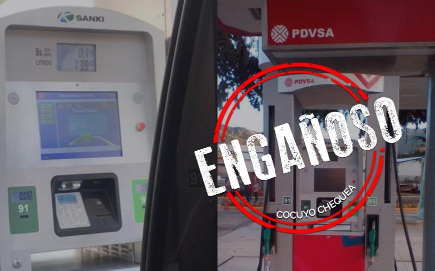 Dispensadores de gasolina Sanki fueron instalados en Fuerte Tiuna en 2019