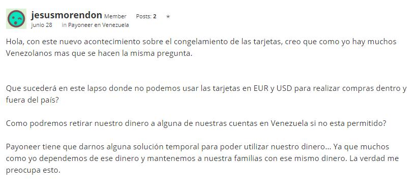 Payoneer Venezuela