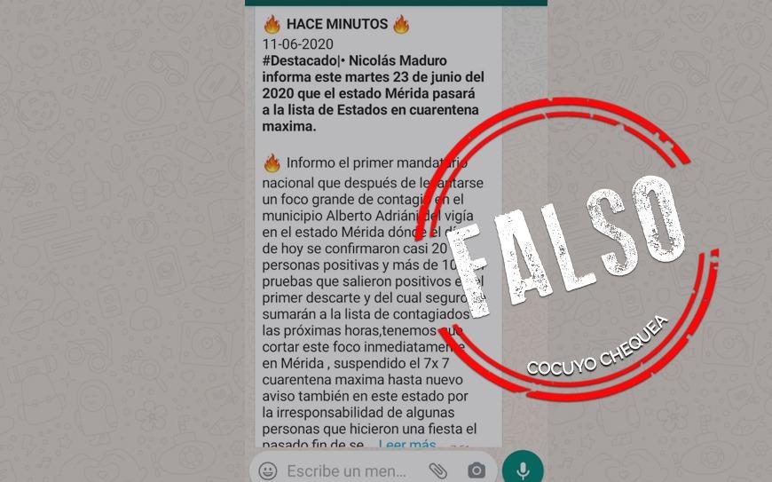 """¿Mérida se encuentra en la lista de estados en """"cuarentena máxima""""?"""