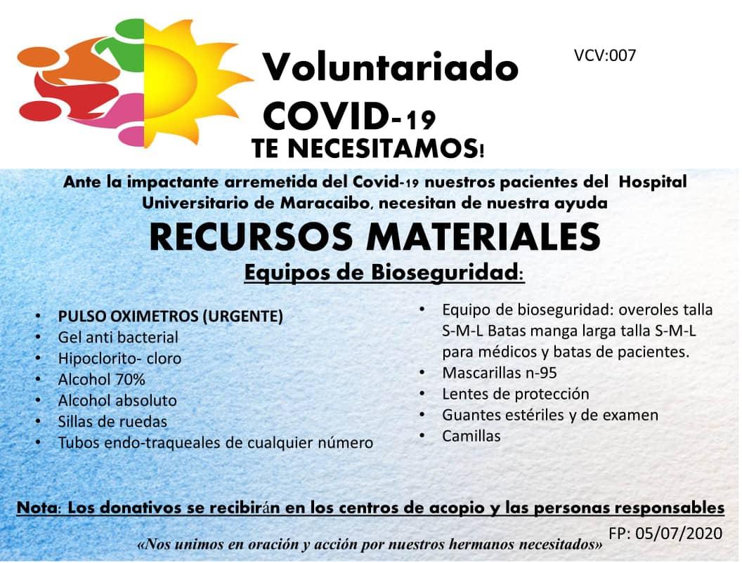 Voluntariado Hospital Universitario de Maracaibo