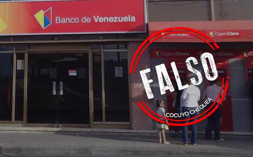 """Banco de Venezuela no sufrió """"hackeo masivo"""" en sus cuentas de ahorro"""