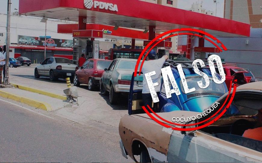 ¿Gobierno suspendió la venta de gasolina subsidiada?