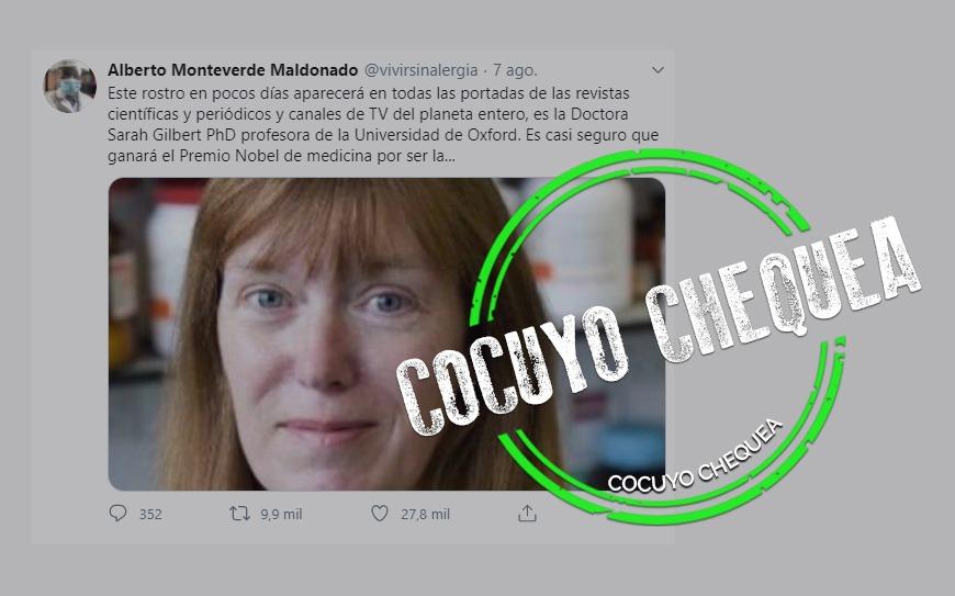 ¿Una profesora de Oxford descubrió la vacuna contra el COVID-19?