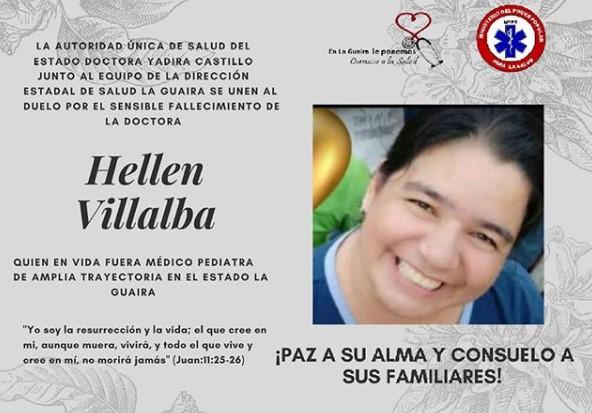 Fallecen cuatro médicos y una enfermera por COVID-19 en Venezuela