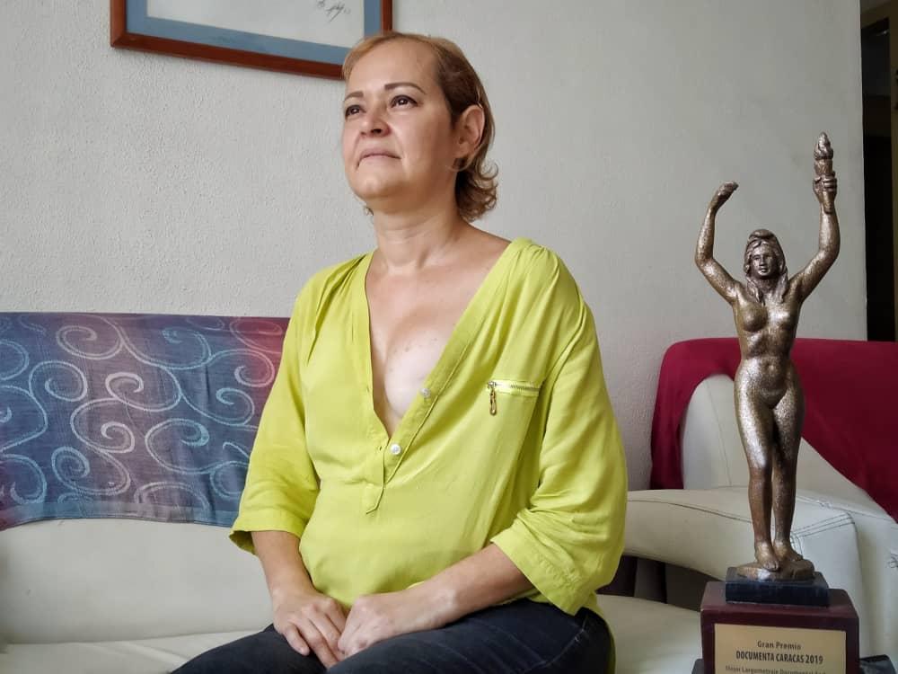 Mildred Varela, sobreviviente de cáncer de mama