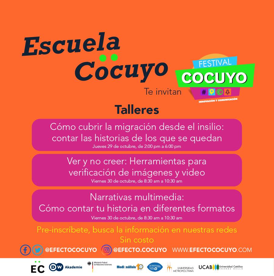 Talleres Escuela Cocuyo 2020
