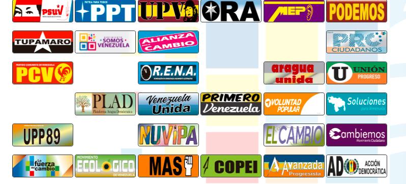 Constituyentes y diputados regionales aspiran a llegar a la AN por el estado Aragua