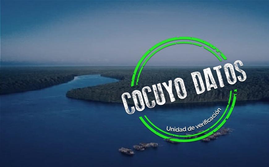 Río Orinoco se encuentra por debajo de los niveles históricos mínimos