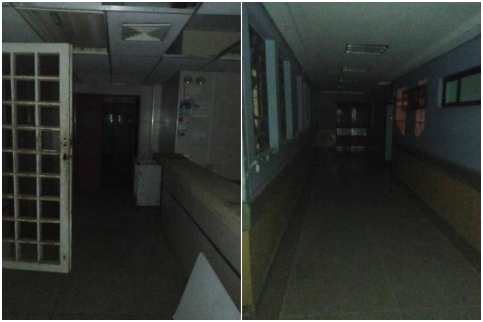 Pasillos del Hospital Central de Maracaibo