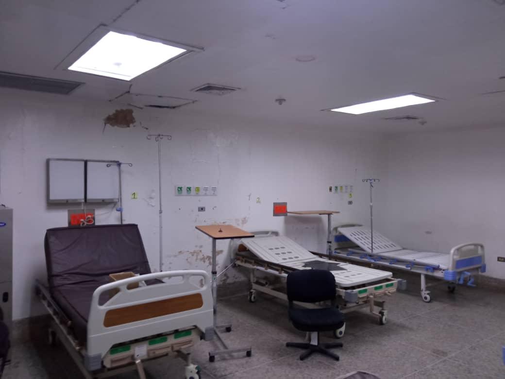 Sala de Hospitalización Hospital Central de Maracaibo