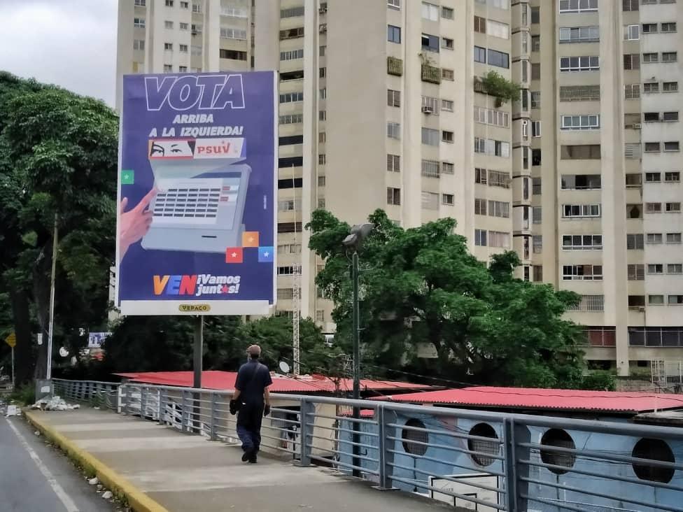 Propaganda electoral: Más vallas y menos pendones (Fotos)