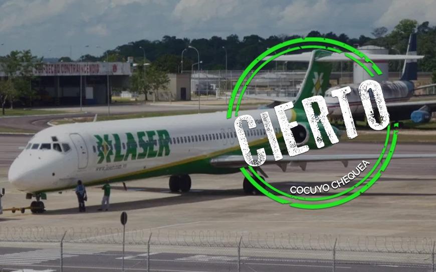 ¿Laser Airlines suspendió la ruta a Dominicana por pasajeros con COVID-19?