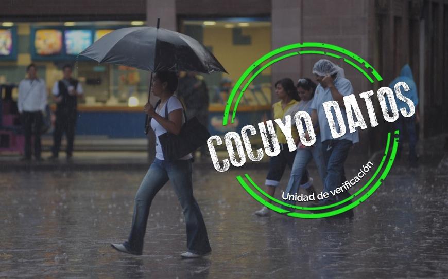 Lluvias empezaron a bajar en noviembre en Caracas, según UCV
