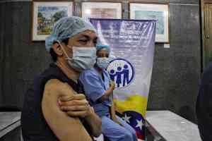 Vacunación con Sputnik V en Caracas