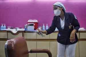Limpieza jornada de inmunización Domingo Luciani