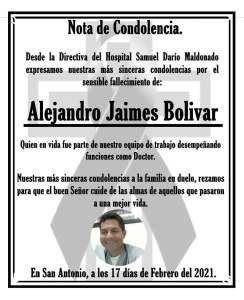 Mueren dos médicos por COVID-19 en Táchira y Zulia
