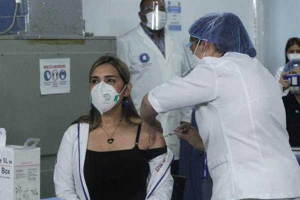 Inicio de vacunación en Venezuela
