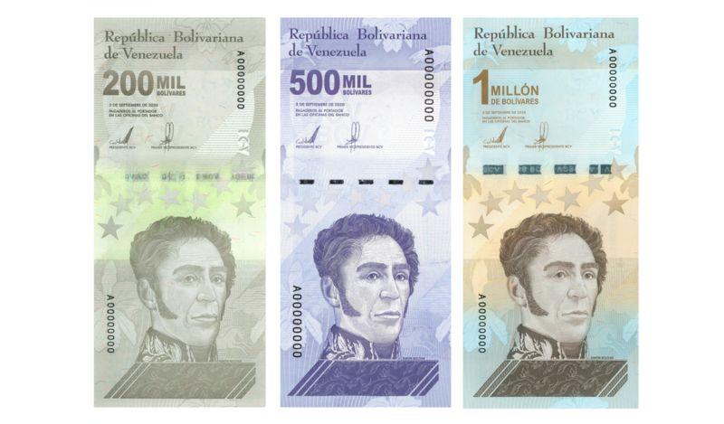 Crisis en Venezuela   Lanzan el billete de un millón de bolívares: cuánto vale y cómo se ha llegado hasta aquí