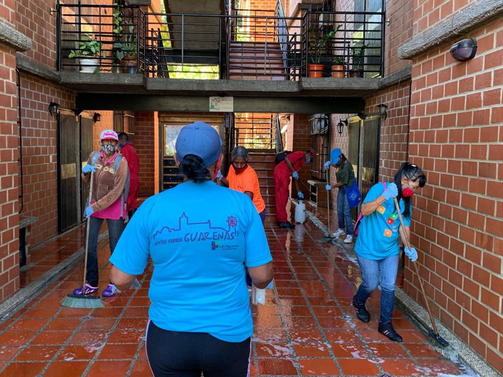 Cerco epidemiológico en Nueva Casarapa se limitó a la limpieza de un sector