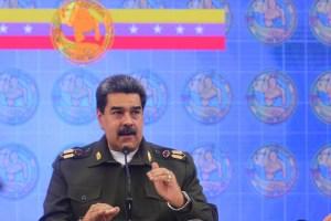"""Maduro acusa a Colombia de querer """"caotizar y robar"""" armas de la Fanb"""