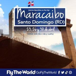 Maracaibo y Santo Domingo