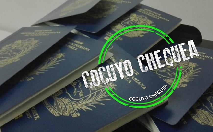 ¿Saime anuló los pasaportes tramitados antes de 2015?