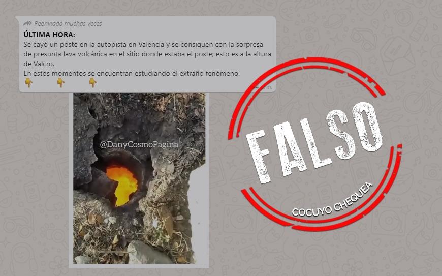 ¿Se descubrió lava volcánica bajo autopista en Valencia?