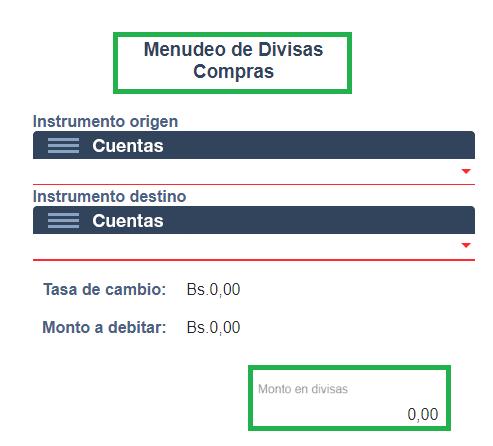 Compra de divisas