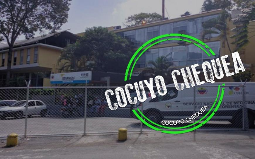 ¿Fotos de fallecidos por COVID-19 en bolsas se tomaron en Caracas?