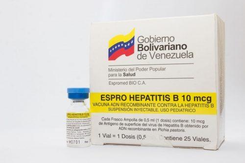 Una de las vacunas de Espromed aparece como elaborada por BioCen en La Habana | Foto: Espromed Bio